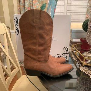 Rampage Walden cognac cowboy boot